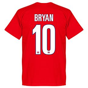 Costa Rica Bryan Team Tee - Red