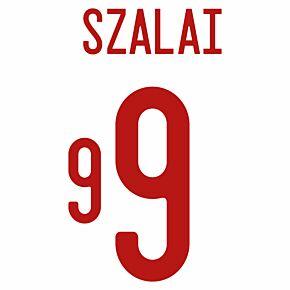 Szalai 9 (Official Printing) - 21-22 Hungary Away
