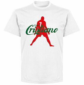 Enjoy Ronaldo KIDS T-shirt - White