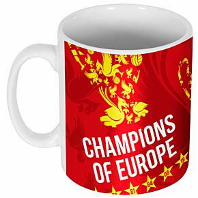Liverpool Trophy Champions of Europe Mug