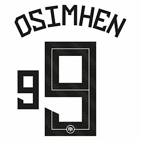 Osimhen 9 (Official Printing) - 20-21 Nigeria Home