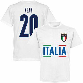 Italy Kean 20 Team KIDS T-shirt - White