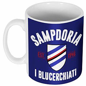 Sampdoria Established Ceramic Mug
