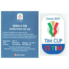 19-20 Tim Cup Patch