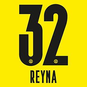 Reyna 32 - 20-21 Borussia Dortmund Home (Official Printing)