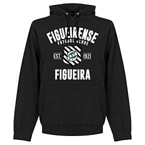 Figueirense Established Hoodie - Black