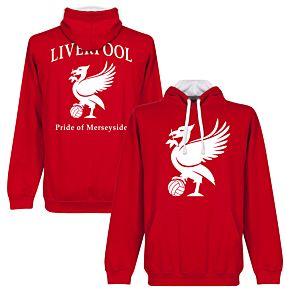 Liverpool Pride Hoodie - Red/White