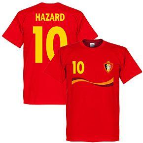 Belgium Hazard Tee - Red
