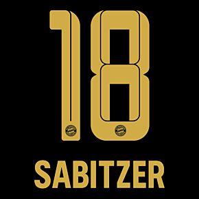 Sabitzer 18 (Official Printing) - 21-22 Bayern Munich Away