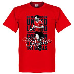 Robson Legend Tee - Red