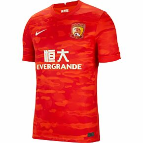 20-21 Guangzhou Evergrande Home Shirt