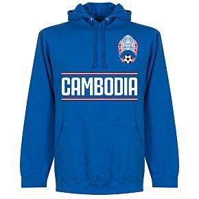Cambodia Team Hoodie  - Royal