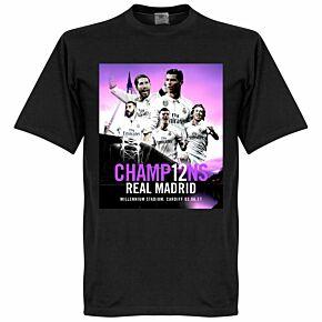2017 Madrid Champions Tee - Black