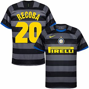 20-21 Inter Milan 3rd Shirt + Recoba 20 (Retro Fan Style)