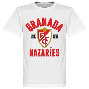 Granada Established T-Shirt - White