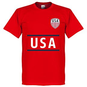 USA Team Tee - Red