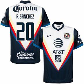 20-21 Club America Away Shirt + R. Sanchez 20 (Fan Style)