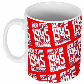 Red Star Belgrade 1945 Mug