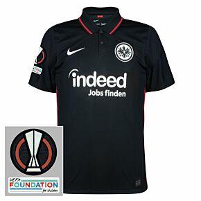 21-22 Eintracht Frankfurt Home Shirt + Europa League Patches