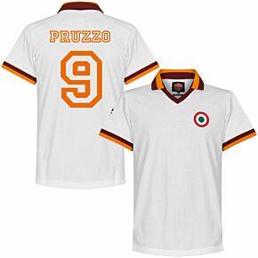 80-81 AS Roma Away Retro Shirt + Pruzzo 9