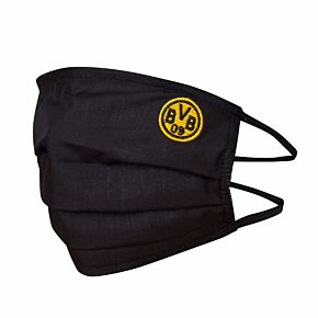 Borussia Dortmund Cotton Face Mask - Black