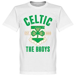 Celtic Established Tee - White