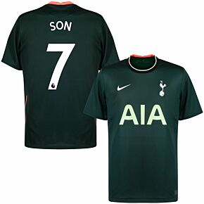 20-21 Tottenham Away Shirt + Son 7
