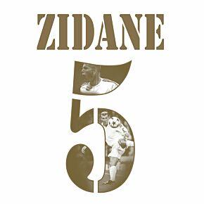 Zidane 5 (Gold Gallery Style)