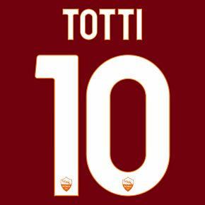 Totti 10 - 20-21 AS Roma Home/3rd (Official Printing)