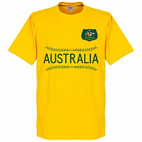Australia Team Tee - Yellow