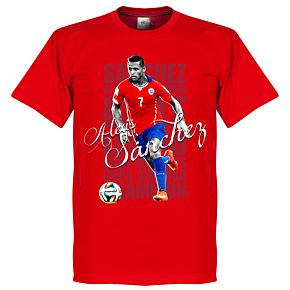 Alexis Sanchez Legend Tee - Red