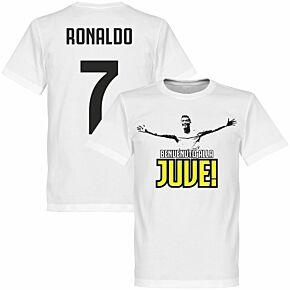 Welcome to Juve Ronaldo KIDS Tee - White