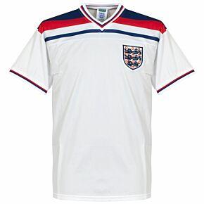 1982 England Home World Cup Retro Shirt