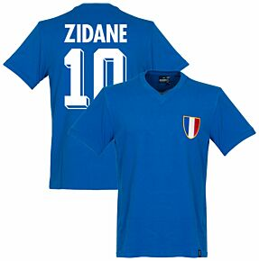 1968 France Olympics Retro Shirt + Zidane 10
