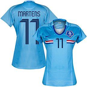 Holland Away Womens Martens 11 Jersey 2008 2009 (Fan Style Printing)
