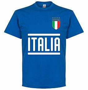 Italy Team Tee - Royal