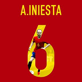 A. Iniesta 6 (Gallery Style)