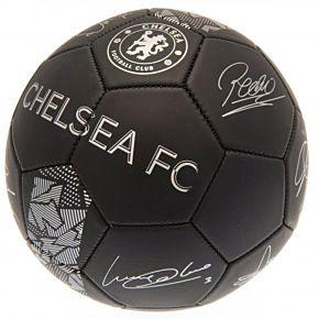 Chelsea Signature Ball - Black/Silver (Size 5)