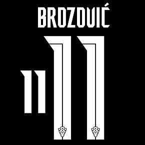 Brozović 11 (Official Printing) - 20-21 Croatia Away