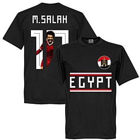 Egypt M. Salah 10 Gallery Team Tee - Black