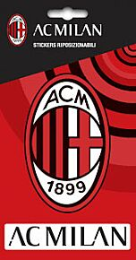 AC Milan Crest Stickers (2 in Pack)