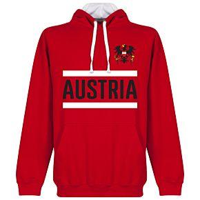 Austria Team Hoodie - Red