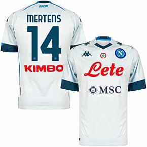 20-21 Napoli Away Shirt + Mertens 14 (Official Printing)