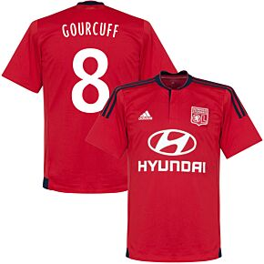 Olympique Lyon Away Gourcuff Jersey 2015 / 2016 - Light Grey/Yellow