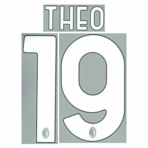 Theo 19 (Official Printing) - 21-22 AC Milan Home