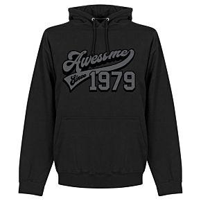 Awsome Since 1979 Hoodie - Black