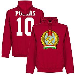 Hungary 1953 Puskas 10 Hoodie - Red