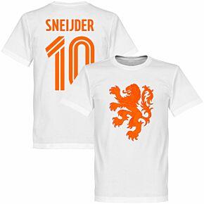 Holland Sneijder Lion Tee - White