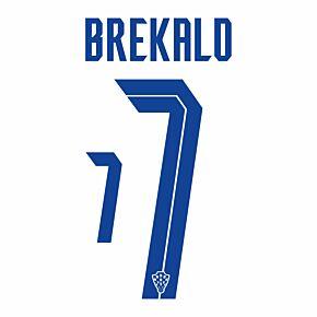 Brekalo 7 (Official Printing) - 20-21 Croatia Home