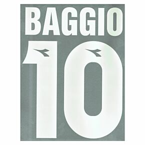 Baggio 10 - 1997 Bologna Home Flock Name and Number Transfer